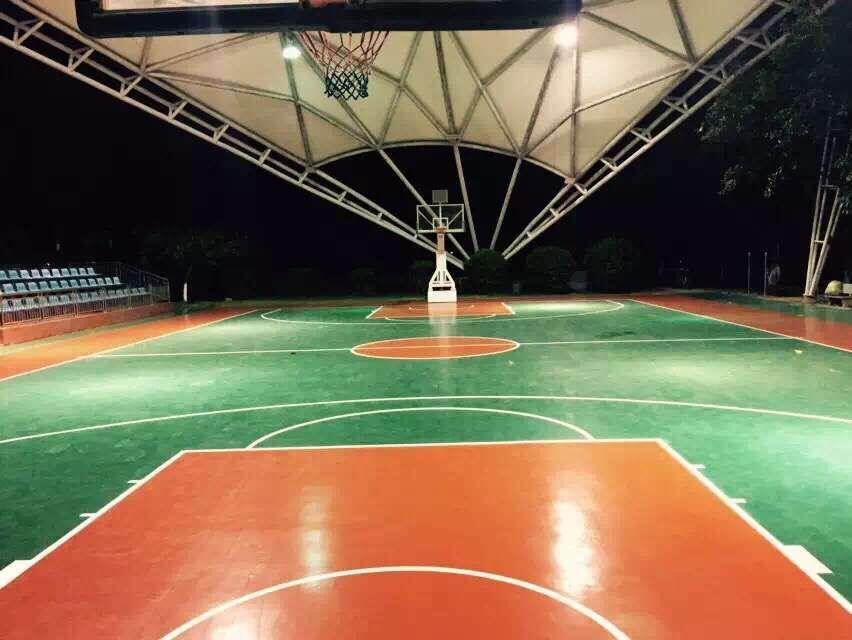 空军机关复合型篮球场改造