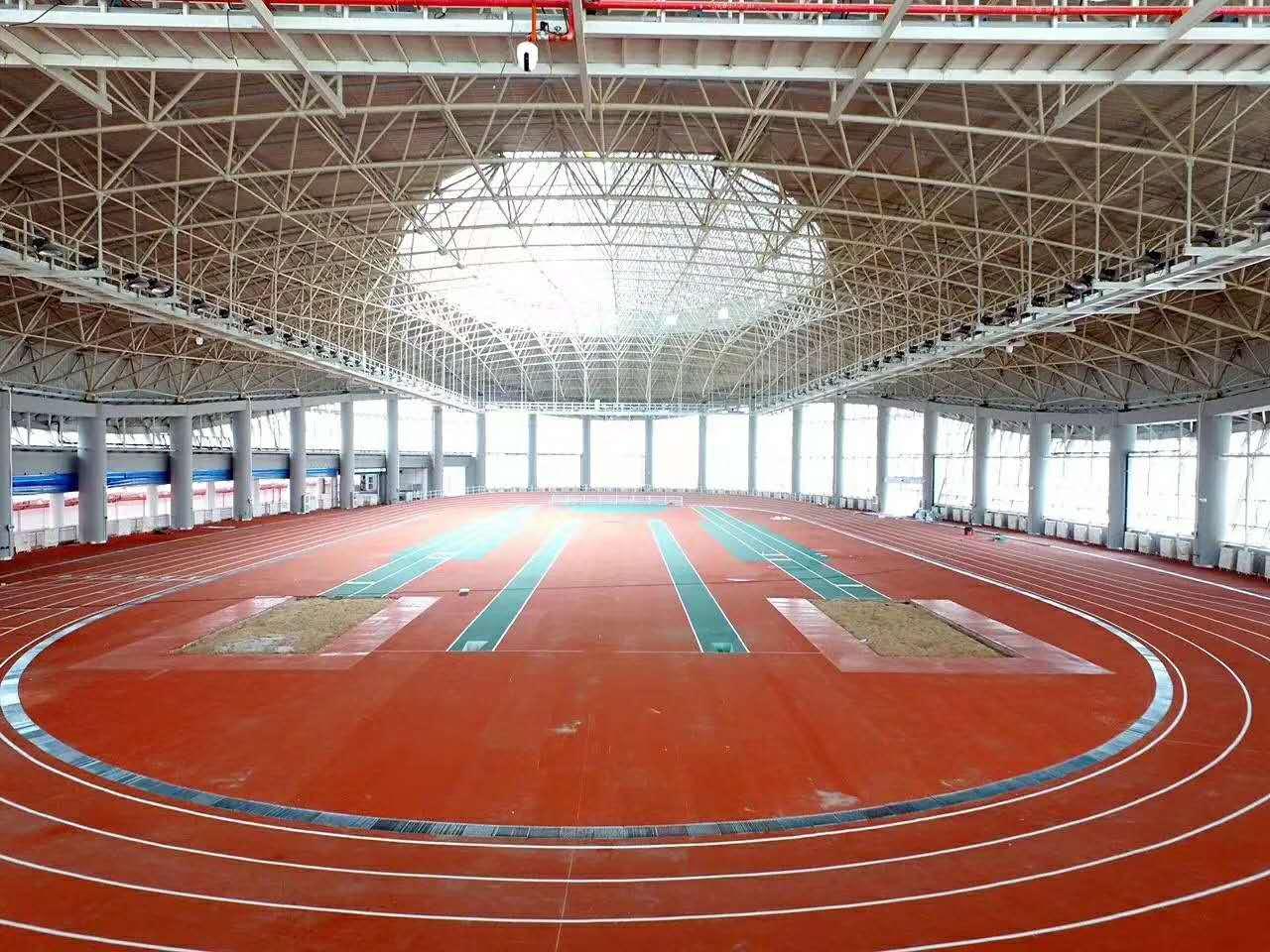 必威体育直播客户端下载中心预制型跑道及配套设施项目完工